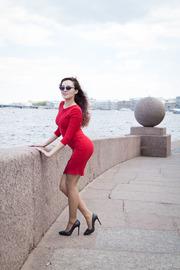 Russian Brunette Beauty Ulia 01