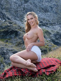 Cherie DeVille On The Rocks 04