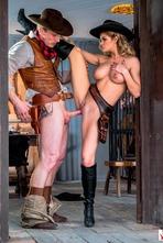 Jessa Rhodes In Wild West Cosplay Porn Action 04