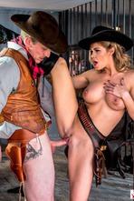 Jessa Rhodes In Wild West Cosplay Porn Action 05
