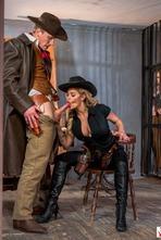 Jessa Rhodes In Wild West Cosplay Porn Action 13