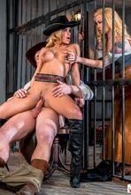 Jessa Rhodes In Wild West Cosplay Porn Action 19