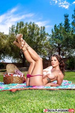 Chanel Preston Strips To Naked Outdoors 12