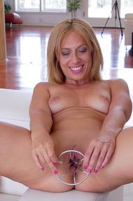 Blonde Milf Masturbates 04