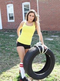 Danni Gibson In Tire 01