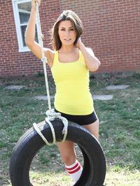 Danni Gibson In Tire 12