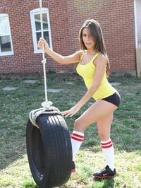 Danni Gibson In Tire 14