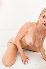 Vanessa Gets Her Tits Wet For A Meat Wrap