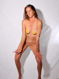 Body Painted Yummi Sophie 05