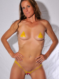 Body Painted Yummi Sophie 11