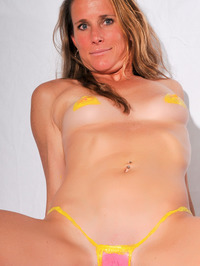 Body Painted Yummi Sophie 13