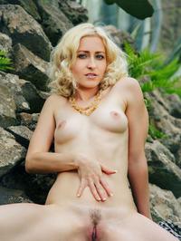 Janelle On The Rocks 05