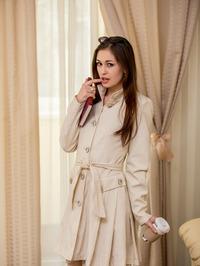 Luscious Ukrainian Hottie Lilian A Slinks Around Her Bedroom In Creamy Colored, Lacy Lingerie 11