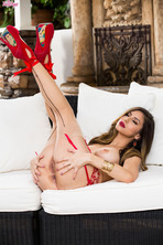 Nina North In Lounging In Lace 16