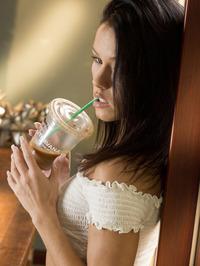 Gorgeous American Brunette Megan Rain 01