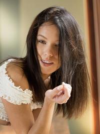 Gorgeous American Brunette Megan Rain 13