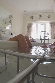 U.K. Soaking Tub With A View