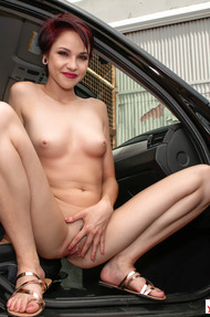 Cadey Mercury Strips To Naked - 14