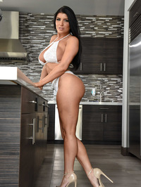 Sexy And Busty Romi Rain 13