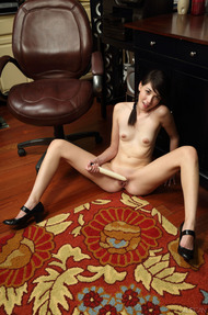 Emily Grey Sexy Schoolgirl Strips To Naked - 12