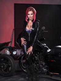 Anna Bell Peaks Biker Babe 02