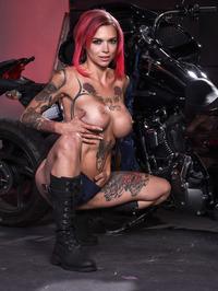 Anna Bell Peaks Biker Babe 11