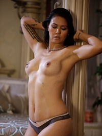 Dana Vespoli Solid Strip 09