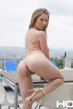 Big Boobed Lena Paul Fingers Her Pussy 09