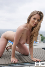 Big Boobed Lena Paul Fingers Her Pussy 12